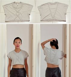 The Braided Crop Top | 19 '90s-Inspired DIYs