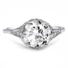 Love love love this! 18K White Gold The Macie Ring from Brilliant Earth