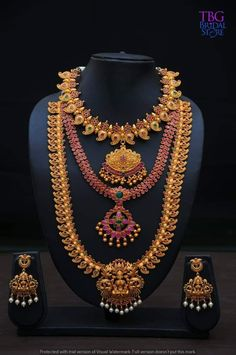 Are you looking for bridal jewellery on rent online? Get south Indian bridal jewellery sets for rent at TBG Bridal Store and look like a queen on your wedding day. Ruby Necklace, Beaded Necklace, South Indian Bridal Jewellery, Kerala Bride, Bridal Stores, India Jewelry, Queen, On Your Wedding Day, Antique Jewelry