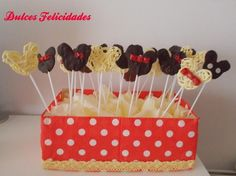 Piruletas de chocolate de Mickey Mouse: ¡Ideales para 1 cumple!