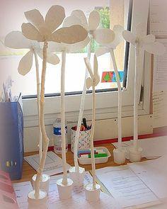 fête des mamans chez Michèle inspiration sculpture de Twombly