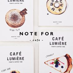 Note for coffee basic stitching notebook 12.5*18.5cm 80 pages blank sheets office school journal sketchbook gift