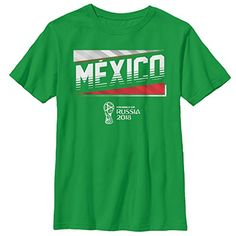 4a389b6aa FIFA World Cup Russia 2018 Mexico Team Boys Graphic T Shirt -- See this  great