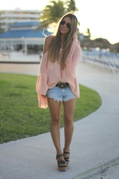 Summer clothes - Love her outfit `and hair <3