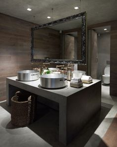 Vu0027ammos Restaurant At Karaiskakis Stadium By LM Architects. Restaurant  BathroomModern BathroomsBeautiful BathroomsDesign ...