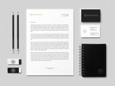 INVESTHAUS Business Boutique // Identity by IndustriaHED™ Branding Co., via Behance