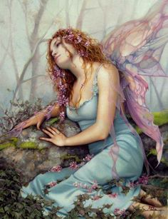 I don't know who the artist is. Pretty Fairy Art...