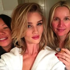 Rosie Huntington-Whiteley 2015 Vanity Fair Oscars Party look created by celebrity makeup artist Monkia Blunder using BECCA Cosmetics