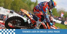 JORGE PRADO, LIDER DE EMX125 DESPUÉS DE HOLANDA