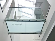 Passerella in acciaio / in vetro / indoor - SA 2 - GROT