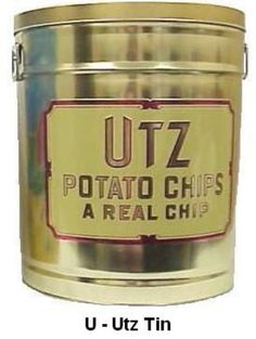 Utz Potato Chips. Hanover, PA. BEST CHIPS IN THE WORLD IN MY OPINION.  BEEN TO HANOVER MANY TIMES AND I ALWAYS BRING SOME HOME WITH ME.