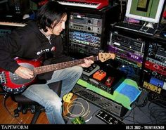 Trent in Studio