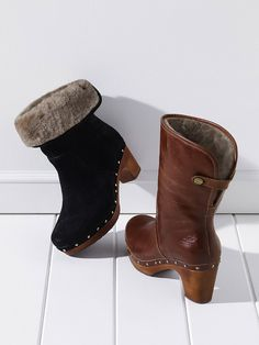 Lynnea Clog Boot - UGG® Australia - these look way cuter in person, not folded down