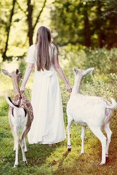 Reminds me of being able to do everything in a skirt; taking the goats for walks in long dresses.