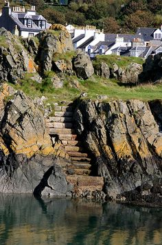 Portpatrick ~ is a village located in southwest Scotland