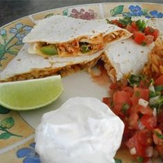 Pico de Gallo Chicken Quesadillas - Allrecipes.com