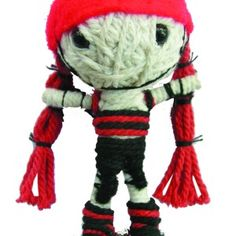 roller derby string doll voodoo blocker red hair