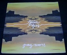 "Twin Tigers ""Gray Waves"" LP Sealed / New Old Flame Records Indie Punk Vinyl Records"