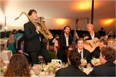 The band was so excited! Photo by Jay Seth Photography