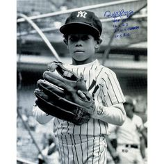 Roberto Alomar Signed Young Roberto In New York Yankees Jersey 16x20 Photo w HOF 2011 2x WS Champs 10x GG 12x AS (MLB Auth)