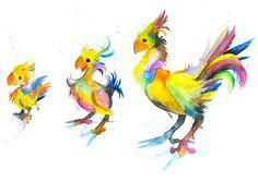 final fantasy chocobo evolution - Google Search
