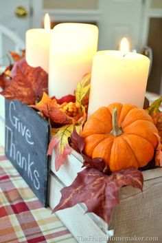 best DIY fall decor ideas that are perfect for welcoming autumn. These decor ideas include wreaths, indoor and even stunning outdoor porch decor ideas. Fall Crafts For Kids, Thanksgiving Crafts, Thanksgiving Decorations, Harvest Decorations, Thanksgiving Table, Pumpkin Vase, Autumn Decorating, Decorating Ideas, Chalkboard Labels