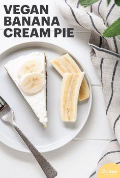 Vegan Banana Cream Pie Recipe