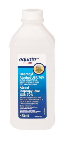 Equate Isopropyl Alcohol Usp 70 In 2020 Alcohol Walmart How