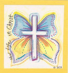 Alleluia He is Risen Indeed-  Laura Schumacher design
