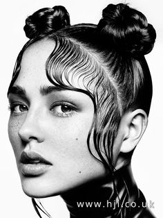 Drawing Hairstyles 607704543450930241 - TRIBU-TE Le Magazine coiffure Professsionnel Source by brandonbedez Pelo Editorial, Beauty Editorial, Hair Photography, Portrait Photography, Beauty Shoot, Hair Beauty, Hair Reference, Grunge Hair, Wet Hair