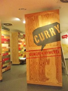 The secret room of spices, at Currywurst  Museum