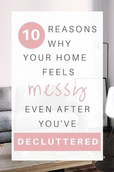 It happens to the best of us: You've already decluttered, yet your home remains messy. On this week's episode of the Sustainable Minimalists Podcast: Simple, actionable steps to take each + every messy space from cluttered to calm. Simple House, Simple Living, Minimalism Meaning, Slow Living, Clean Living, Organizing Your Home, Organising, Declutter Your Life, Making Life Easier