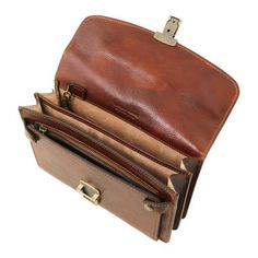 Arthur - Exclusive leather handy wrist bag for man Browns Gifts, Tan Leather, Leather Bags, Vegetable Tanned Leather, Brass Hardware, Messing, Italian Leather, Antique Brass, Dust Bag