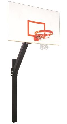 First Team Legend Excel In Ground Fixed Height Outdoor Basketball Hoop 72 inch Steel from NJ Swingsets