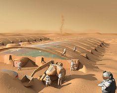 Mars Colony by troubadour1, via Flickr