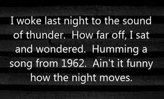 wiki Night Moves (song)