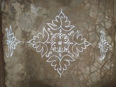 Rangoli Designs Latest, Rangoli Designs Flower, Rangoli Border Designs, Small Rangoli Design, Rangoli Ideas, Rangoli Designs With Dots, Rangoli Designs Images, Rangoli With Dots, Beautiful Rangoli Designs