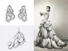 Коллекция ювелирных украшений Archi Dior, вдохновленную кутюрными нарядами Кристиана Диора, Buro 24/7 Kazakhstan