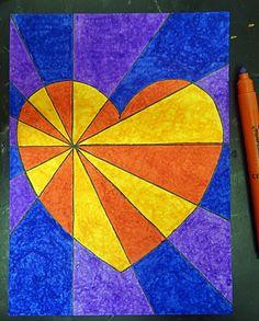 Alla hjärtans dag 2017 – åk 5 startar upp med OP-konst – Bildlärarbloggen Valentines Art Lessons, 2nd Grade Art, Sharpie Art, Dot Art Painting, School Art Projects, Art Lessons Elementary, Science Art, Heart Art, Art Plastique