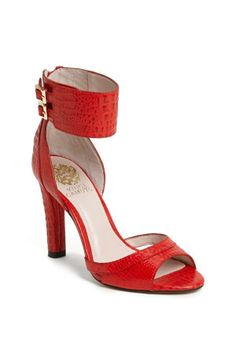 Sexy! Red sandal from Vince Camuto.
