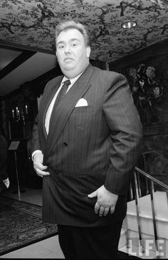 Gentleman John Candy. He gave away most of his money during his career to charity or to build nfp hospitals. Good, Good Man.