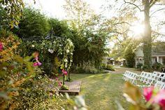 Arbor for Outdoor Wedding Ceremony