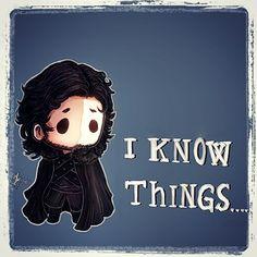 Jon Snow...chibi by Nikuwicca.deviantart.com on @deviantART