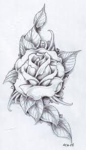 I think this would be awesome with the Rose colored red and the leaves just shaded with grey and a hint of green