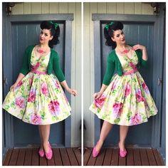 My Week In Outfits! - Miss Victory Violet Curvy Fashion, Retro Fashion, Girl Fashion, Vintage Fashion, Vintage Style, Vintage Pins, Retro Style, Vintage Inspired, Fashion Ideas