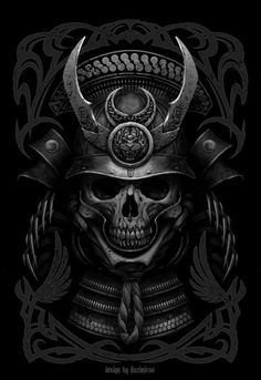 ArtStation - Last Samurai, by Kazimirov DmitriyMore skulls here.
