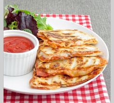 Pizza Quesidillas