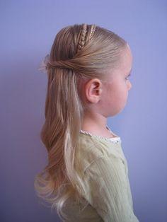 hair do for little girl
