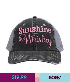 bef122273ec Hats Usa Pk Sunshine  amp  Whiskey Glitter Baseball Cap Trucker Hat Custom  Usa Made
