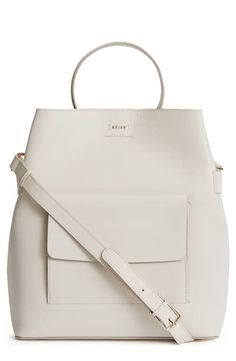 Reiss Freya Leather Bucket Bag In Off White Reiss Fashion, Hand Bags, World Of Fashion, Luxury Branding, Leather Backpack, Bucket Bag, Shoulder Bags, Off White, Totes